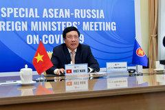 ASEAN-Nga mở rộng hợp tác, ứng phó dịch bệnh Covid-19