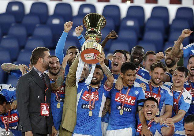 Napoli vô địch Coppa Italia sau khi hạ Juventus ở loạt luân lưu