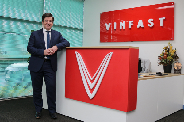 Sếp VinFast Australia chia sẻ về 'cơ hội chỉ có một lần trong đời'