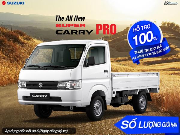 Suzuki hỗ trợ phí trước bạ cho khách hàng trong tháng 6