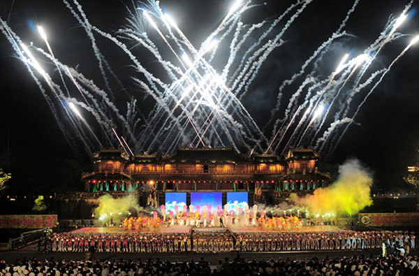 The 11th Hue Festival,a food festival,famous local dishes,a street carnival