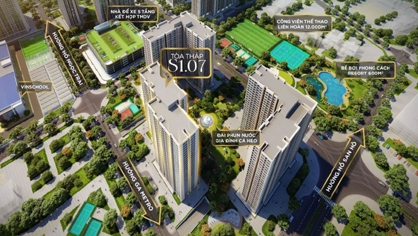 Mở bán tòa tháp liền kề trường học thuộc dự án Vinhomes Ocean Park