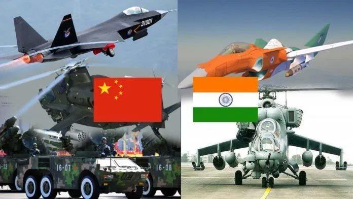 Đọ sức mạnh quân đội Trung Quốc, Ấn Độ