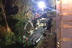 Tài xế xe container gây tai nạn 3 người chết ra đầu thú