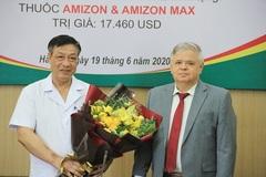 Nga và Ucraina tặng thuốc hỗ trợ điều trị Covid-19 cho Việt Nam