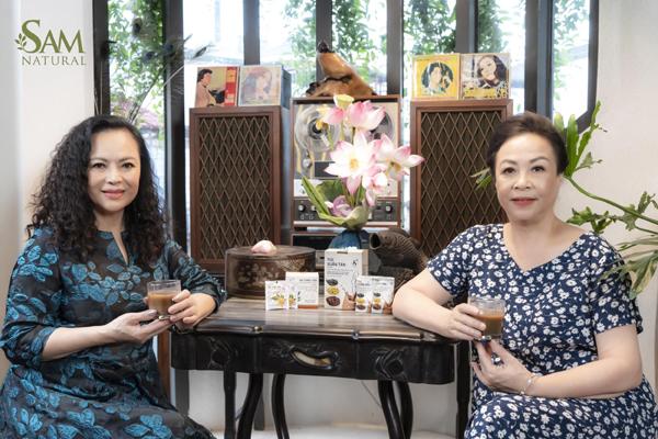 Bí quyết níu tuổi xuân của 'mẹ chồng quốc dân' Hoàng Cúc, Thanh Quý, Phương Lâm