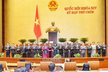 21 thành viên của Hội đồng bầu cử quốc gia có 6 ủy viên Bộ Chính trị
