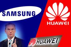 Samsung quay lưng với Huawei, cựu CEO Google tố Huawei làm gián điệp