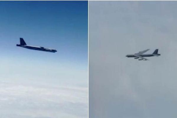 Xem chiến cơ Nga áp tải cặp máy bay ném bom Mỹ ở Viễn Đông