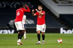 Pogba và Bruno Fernandes tỏa sáng, MU thoát thua Tottenham