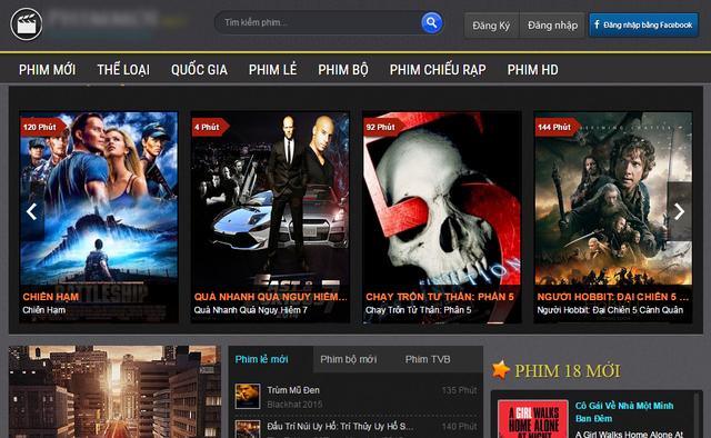 Trang web phim 'lậu' lớn bậc nhất Việt Nam bất ngờ ngừng hoạt động