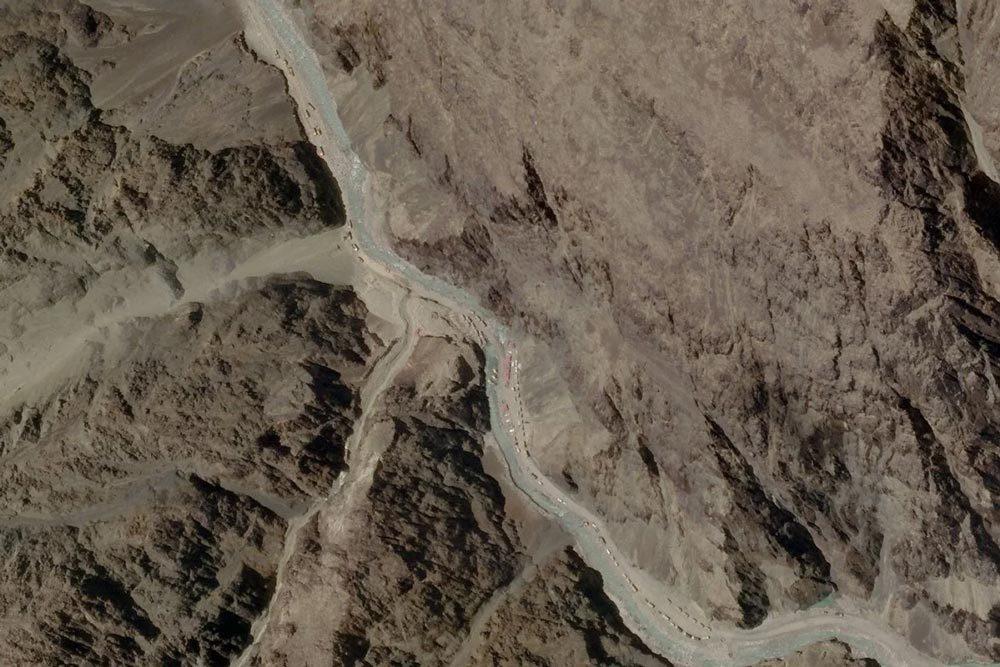 Ảnh vệ tinh hé lộ động thái mới của Trung-Ấn sau đụng độ biên giới