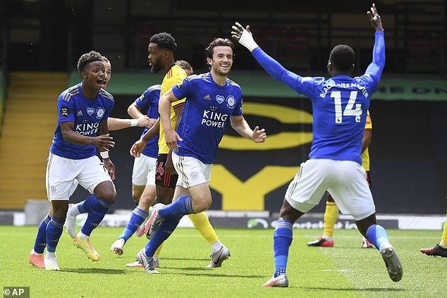 Mở tỷ số ở phút 90, Leicester vẫn tuột chiến thắng