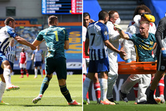 Thủ môn Arsenal dính chấn thương kinh hoàng