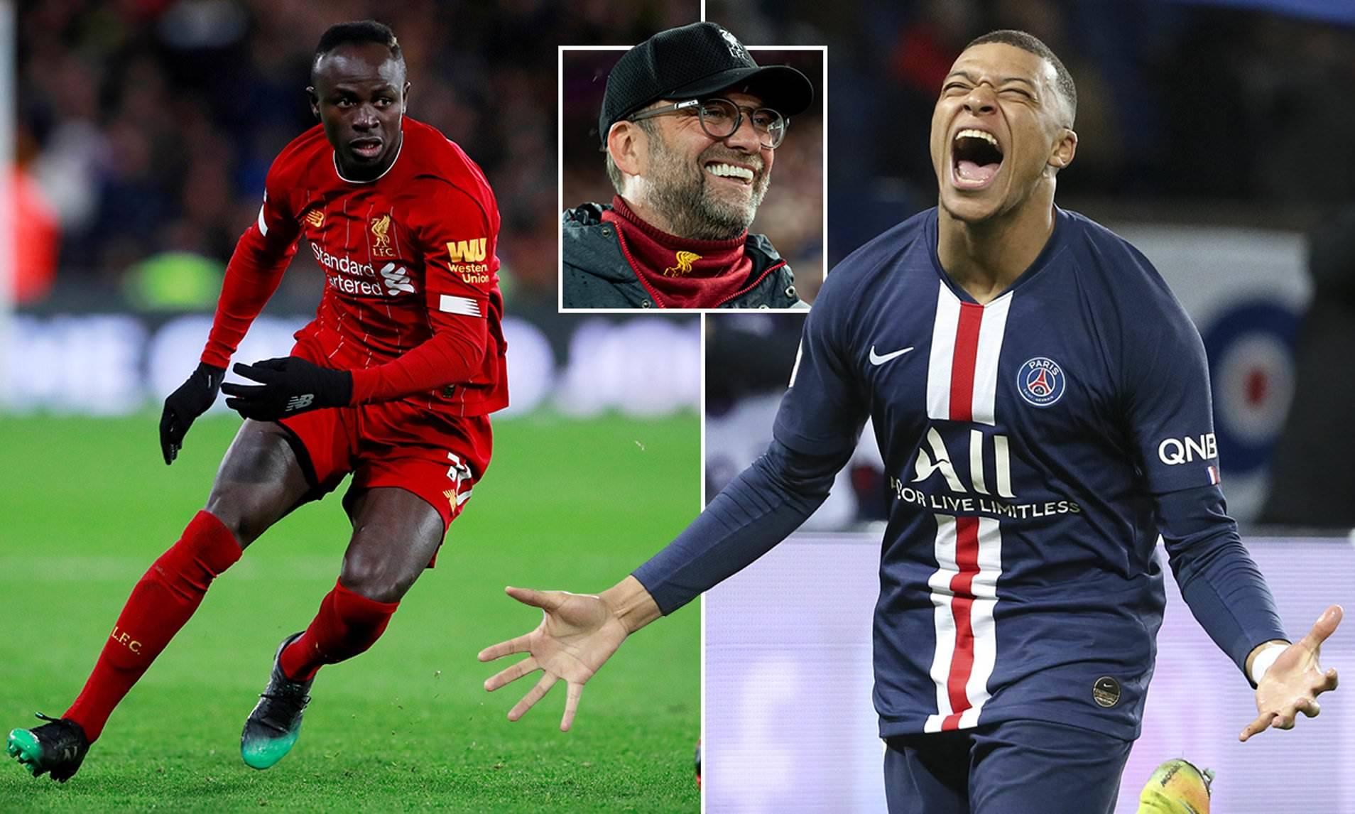 Liverpool cược Sadio Mane để đưa Kylian Mbappe về Anfield