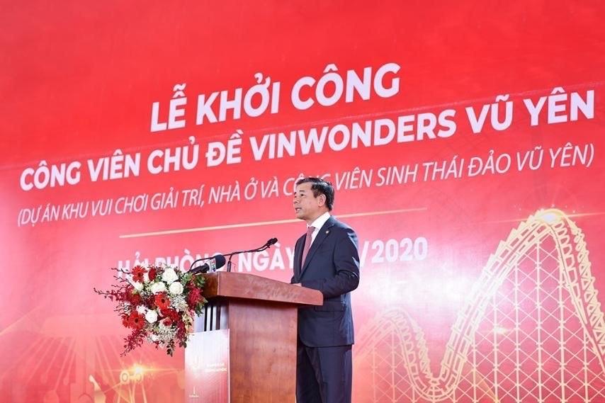 Khởi công VinWonders Vũ Yên - công viên chủ đề lớn nhất Việt Nam