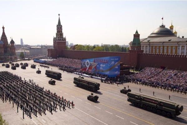 Cuộc diễu binh độc nhất vô nhị trên Quảng trường Đỏ