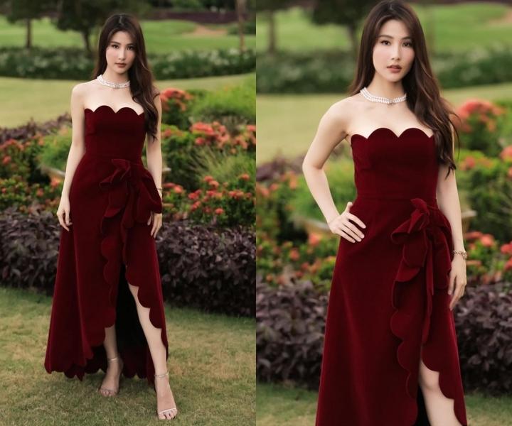 Sam, Trương Quỳnh Anh đẹp mong manh với váy trắng