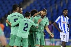 Ramos, Benzema giúp Real chiếm ngôi đầu La Liga