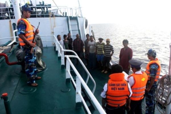 Xây dựng Thông tư liên tịch quy định về phối hợp trong việc bắt, tạm giữ của lực lượng Cảnh sát biển, Bộ đội Biên phòng