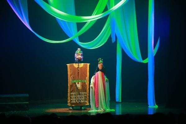 'Thân phận nàng Kiều' trên sân khấu rối cạn
