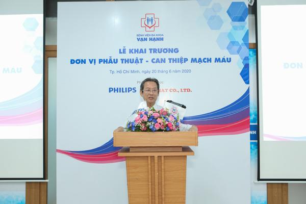 Bệnh viện Vạn Hạnh ứng dụng hệ thống chụp mạch của Philips