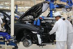 Xuất khẩu ô tô của Thái Lan giảm mạnh