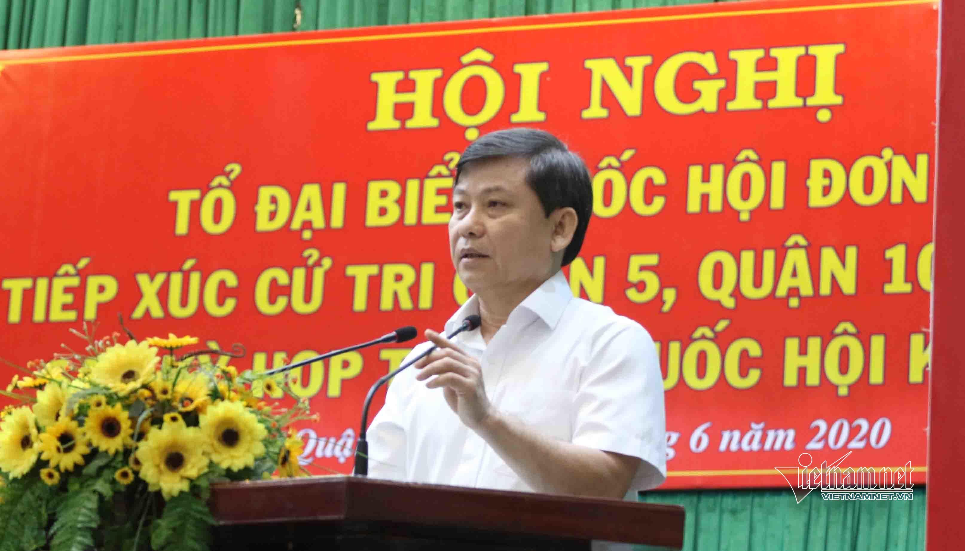 Viện trưởng Lê Minh Trí lại trả lời cử tri sau nhiều diễn tiến mới vụ Hồ Duy Hải