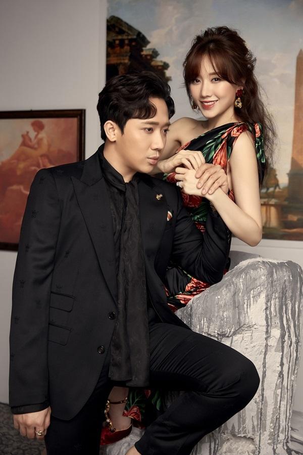 Hari Won tình tứ cùng Trấn Thành kỷ niệm sinh nhật lần thứ 35