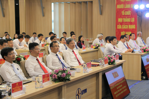 Đảng bộ Tổng Công ty Phát điện 1 tổ chức Đại hội nhiệm kỳ 2020-2025