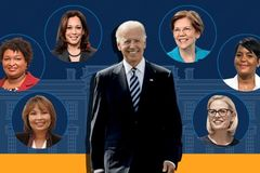 Who could be Joe Biden's vice-presidential candidate?