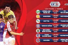 Lịch thi đấu vòng 6 LS V-League: Đà Nẵng tiếp HAGL