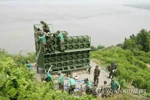 Triều Tiên lắp đặt nhiều loa phóng thanh dọc biên giới với Hàn Quốc
