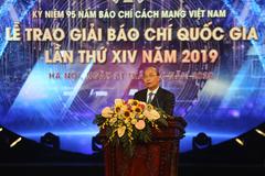 Lời cám ơn của Hội nhà báo Việt Nam