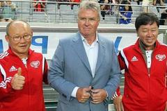 """HLV Park Hang Seo: """"Tôi học được nhiều từ Guus Hiddink"""""""