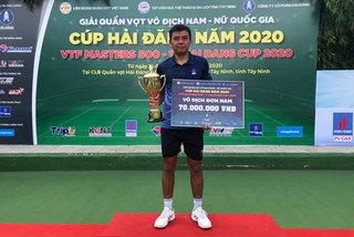 Vietnam's top tennis player triumphs at VTF Masters 500