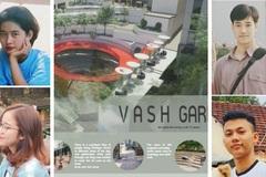 Sinh viên Đà Nẵng đoạt Á quân cuộc thi kiến trúc tại Hong Kong
