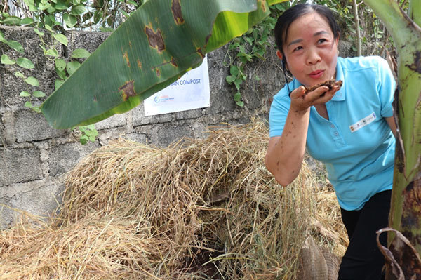 Quang Ninh,the community-based waste management project,treating waste,waste treatment plants
