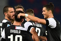 Ronaldo và Dybala lập công, Juventus củng cố ngôi đầu