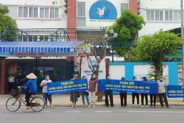 Đề nghị giải quyết vụ bất đồng học phí online ở Nghệ An trước 15/7