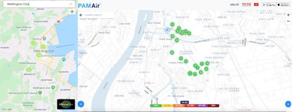 Chất lượng không khí ở Ecopark tương đương với New Zealand