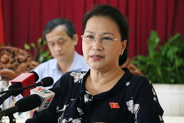 Chủ tịch Quốc hội trả lời cử tri về vụ nâng khống giá máy xét nghiệm Covid-19