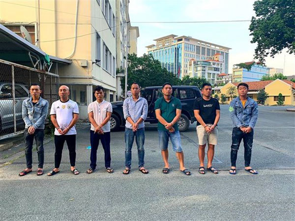 HCM City gang gets caughtafter robbery