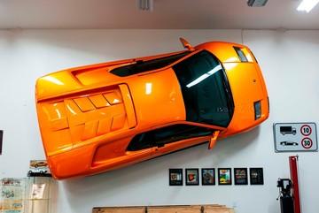 Rao bán chiếc Lamborghini Diablo VT treo tường độc đáo