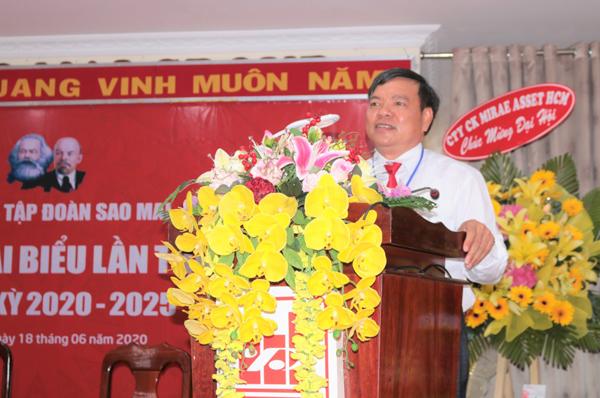 Đảng bộ tập đoàn Sao Mai tổ chức đại hội lần thứ V