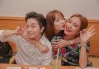 Hoàng Thuỳ Linh - Gil Lê sánh đôi trong tiệc sinh nhật Minh Hằng