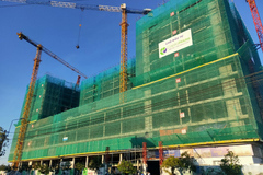 EcoLife Riverside Quy Nhơn tiếp tục thi công vượt tiến độ