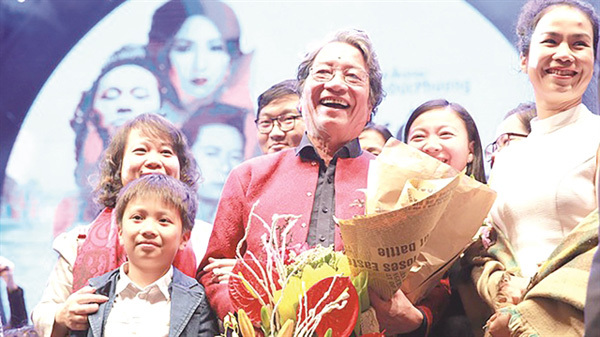 Live concert,honour composer Pho Duc Phuong