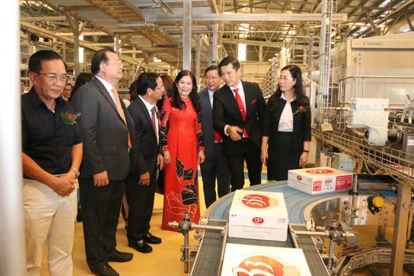 SABECO khai trương dây chuyền chiết lon công suất 60.000 lon/giờ tại Nhà máy Quảng Ngãi
