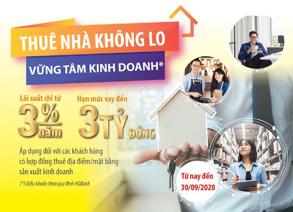 Gói ưu đãi vay vốn giúp DN siêu nhỏ 'thuê nhà không lo'
